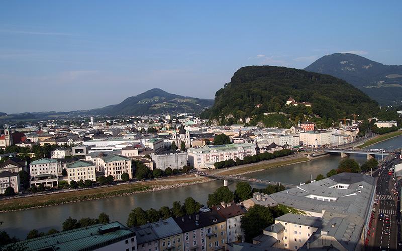 Die Stadt salzburg