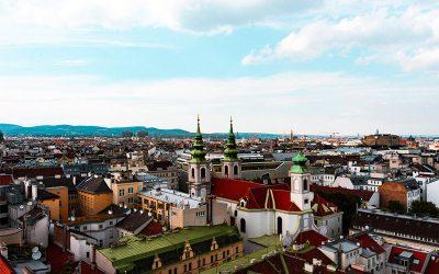 Stadt Wien von oben