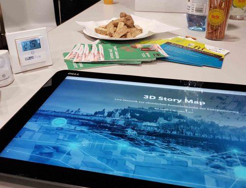 Speeddating mit iSPACE: Forscherinnen zu Webkartographie und Geovisualisierung bei der BeSt-Messe in Salzburg