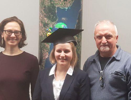 GIS und Gebäude: Doktorhut für iSPACE-Forscherin Laura Knoth!