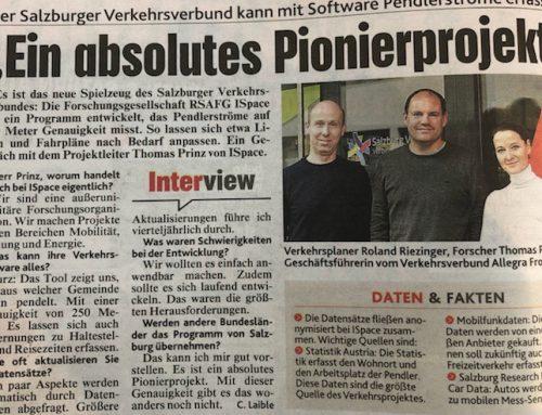 """Pendlerstromanalyse der RSA FG ist ein """"absolutes Pionierprojekt"""" auch für andere österreichische Bundesländer"""